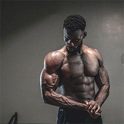 Guy small buff Muscle Worship: