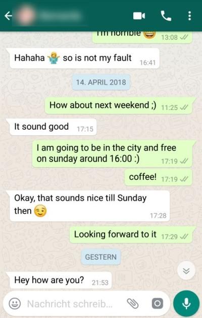 Chat whatsapp flirt Tips To