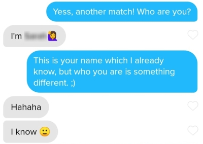 Best tinder openers that work