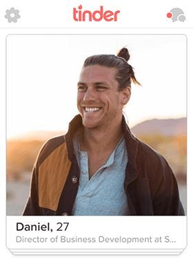 Tinder profile text male